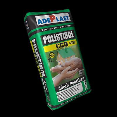 adeziv polistiren polistirol eco plus 25kg lipire polistiren si plasa